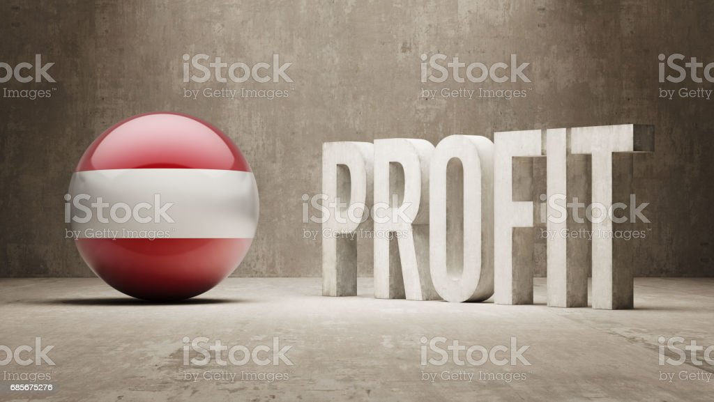 Profit Concept 免版稅 profit concept 向量插圖及更多 商務 圖片