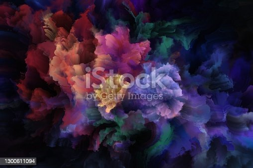 istock psychedelic floral pattern 1300611094