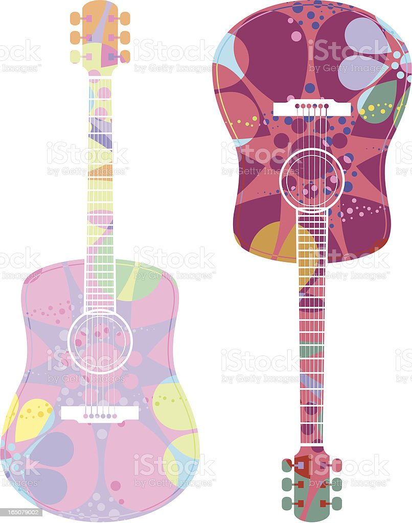 Psychedelic guitar royalty-free psychedelic guitar stock vector art & more images of 1960-1969