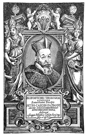 Illustration of a Péter Pázmány (1570-1637), Hungarian Jesuit