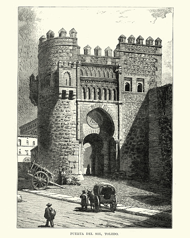 Puerta del Sol, Toledo, Spain