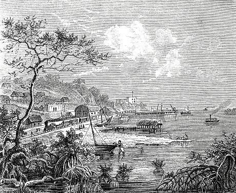 Puerto Salgar harbor, Colombia