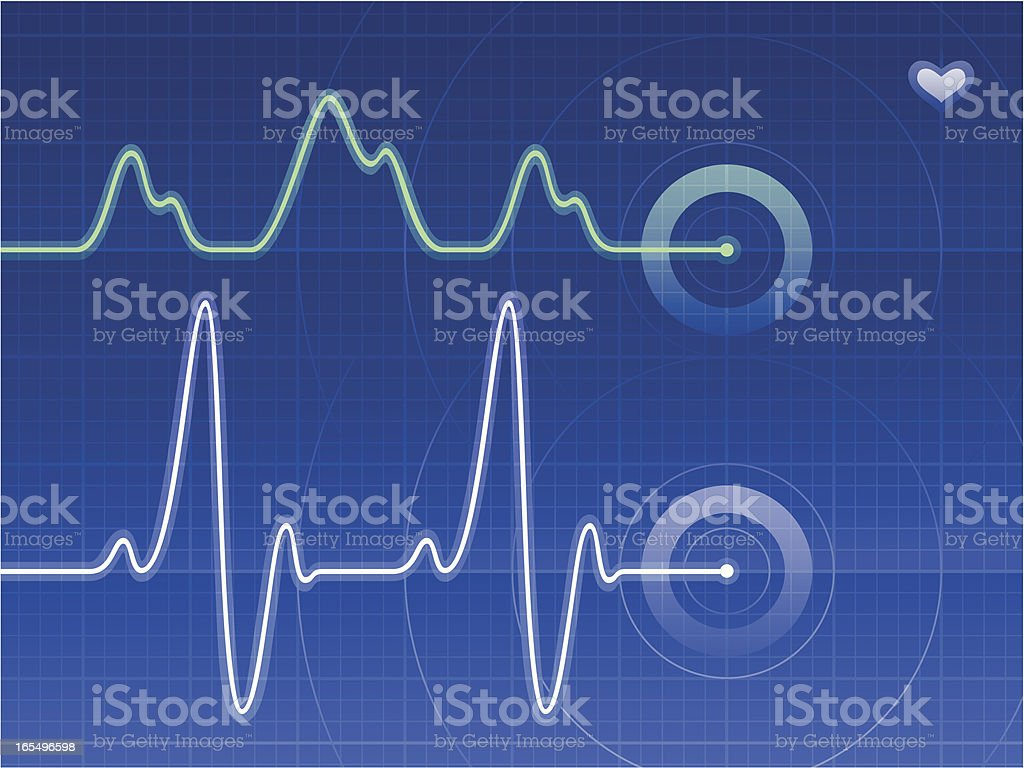 Pulse royalty-free stock vector art