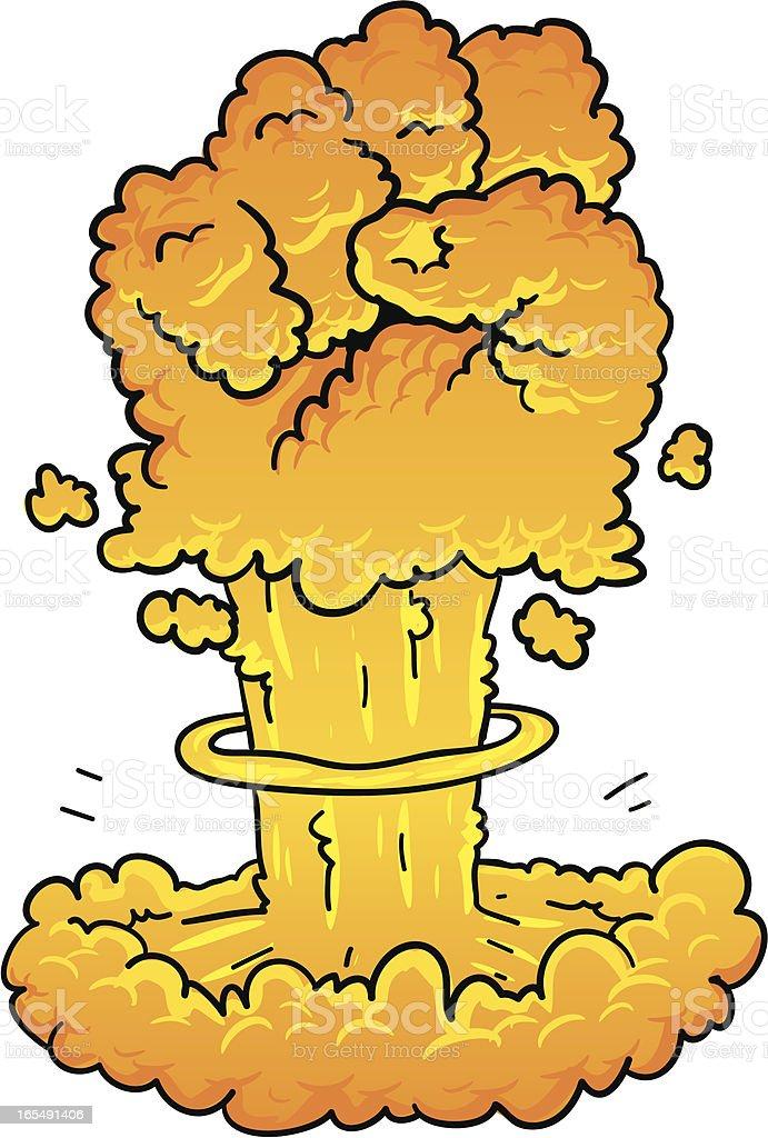 punch bomb royalty-free stock vector art