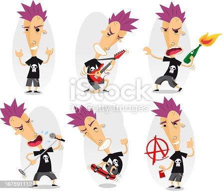 istock punk action set 167591112