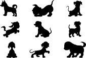 Puppies (cartoon style)