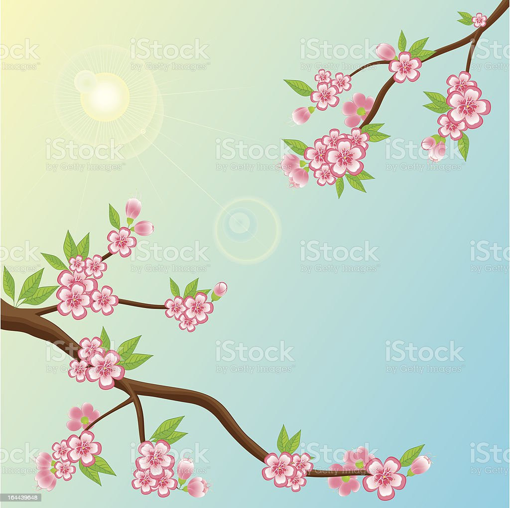 Pure Morning royalty-free stock vector art