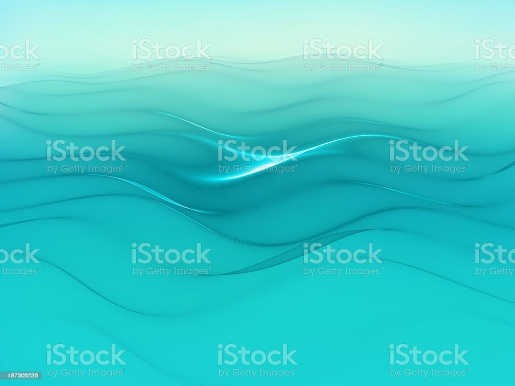 Pure water - abstract background vector art illustration