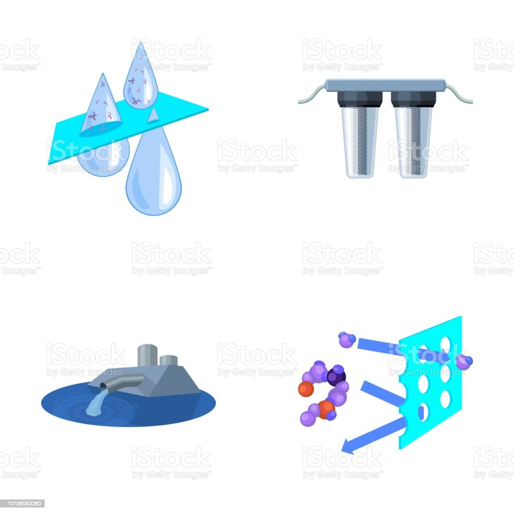 Purification Water Filter Filtration Water Filtration System Set