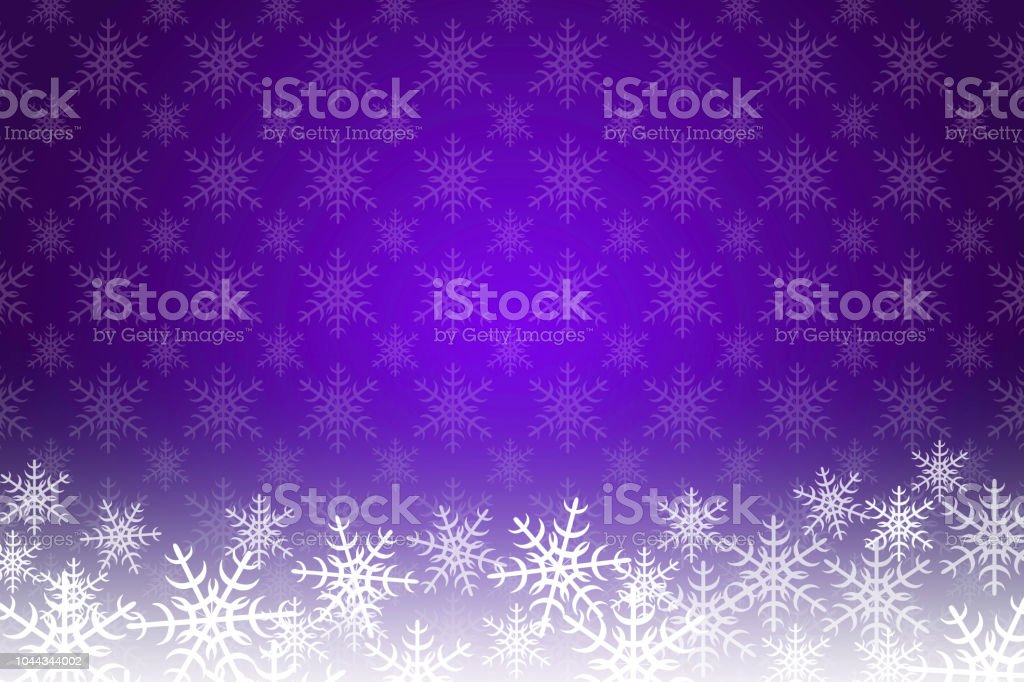 purple christmas and new year background with snowflakes and copy space royalty free purple christmas