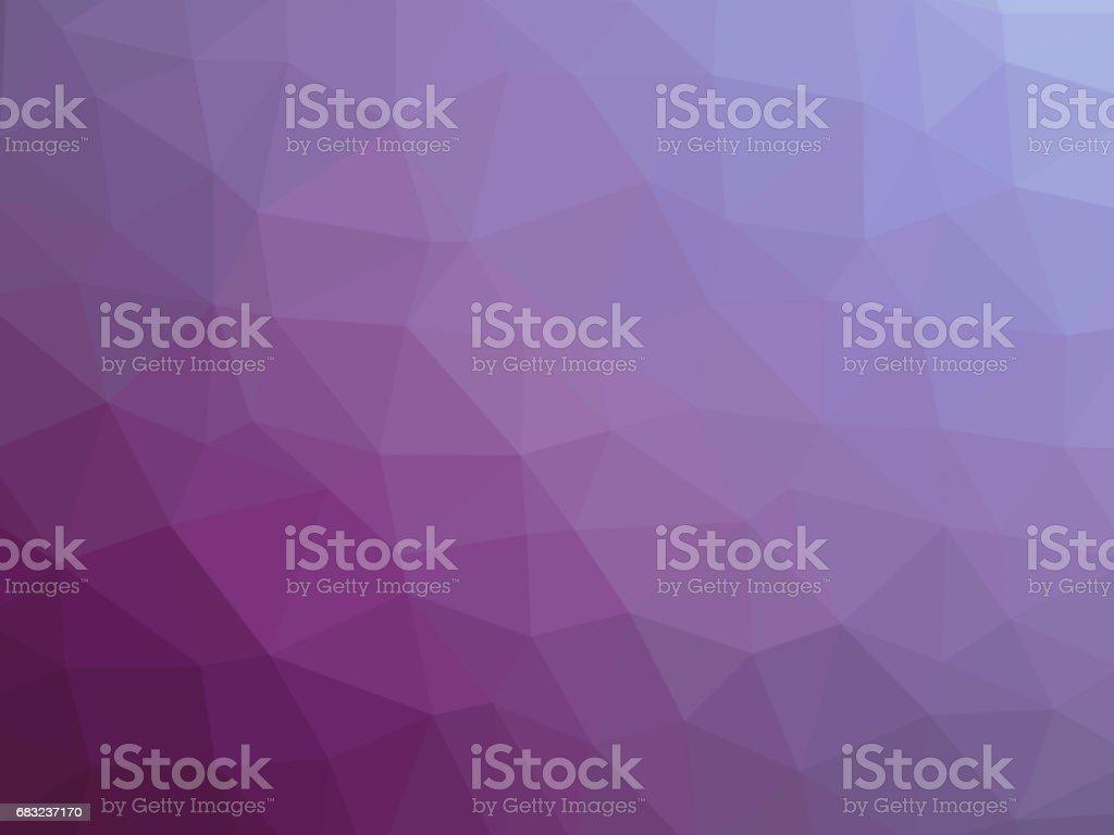 Purple magenta polygon shaped background purple magenta polygon shaped background - arte vetorial de stock e mais imagens de abstrato royalty-free