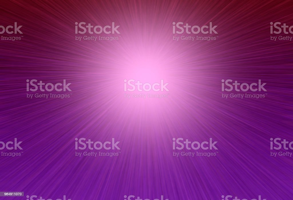 Purple rays bright glowing background - Royalty-free Abstract stock illustration