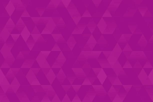 illustrazioni stock, clip art, cartoni animati e icone di tendenza di purple triangle seamless pattern pretty rhomb bright pink violet texture party invitation background geometric minimalism - magenta