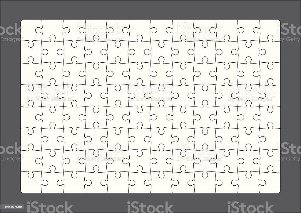 D.I.Y Puzzle vector art illustration