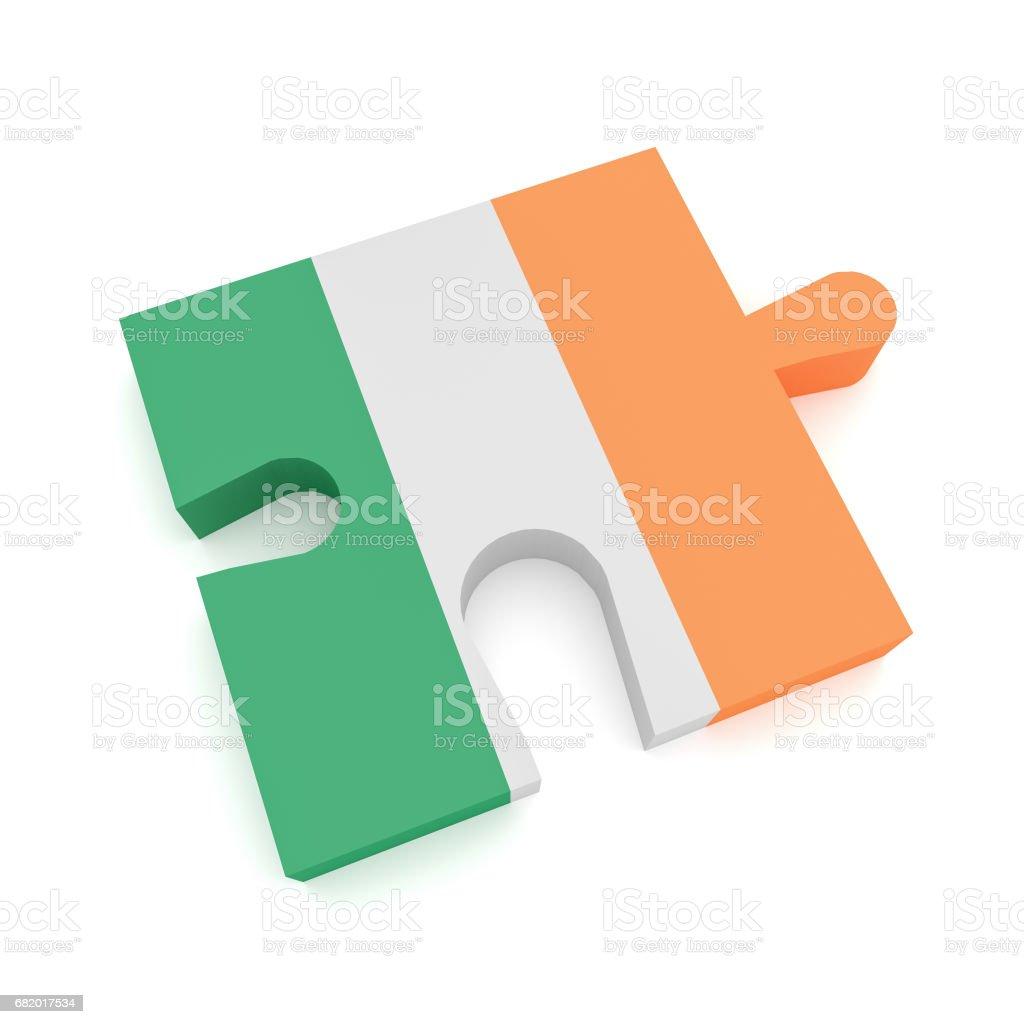 Puzzle piece com bandeira de irlanda 3d ilustrao em fundo branco puzzle piece com bandeira de irlanda 3d ilustrao em fundo branco vetor e ilustrao royalty ccuart Gallery