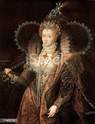 istock Queen Elizabeth I 174632351