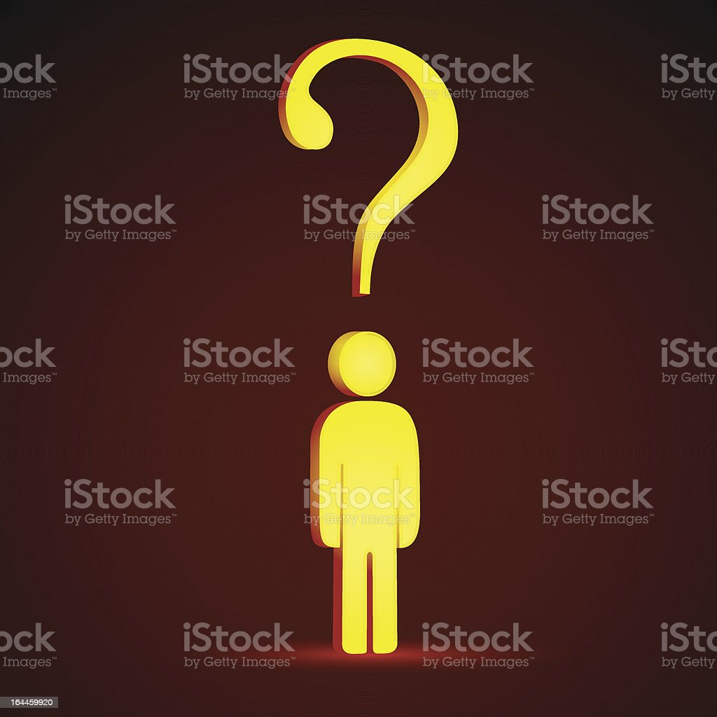 Question Mark Creative Symbol royalty-free question mark creative symbol stock vector art & more images of business
