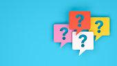 istock Question Mark on Speech Bubble 1179041250