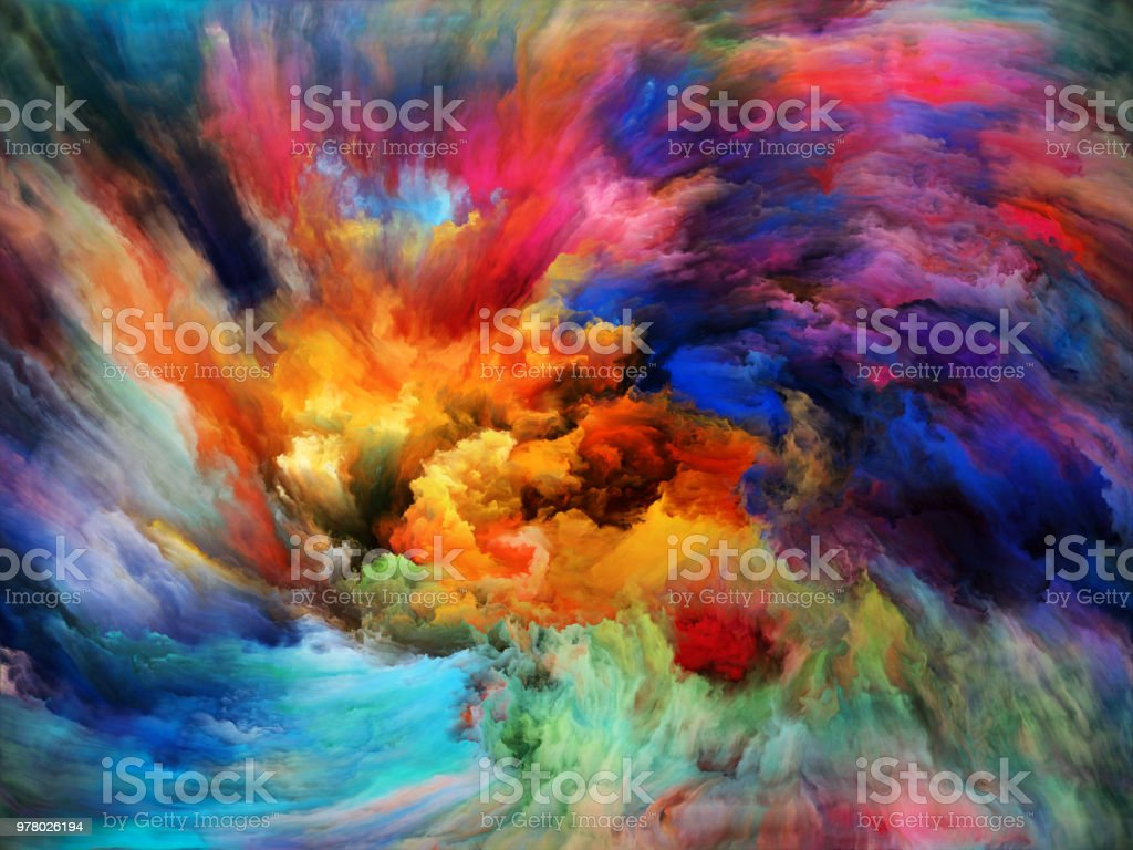 Quickening of Background vector art illustration