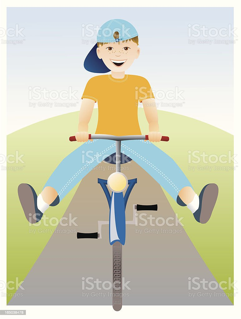 Racing downhill royalty-free racing downhill stock vector art & more images of bicycle