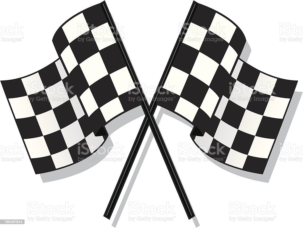 racing flag royalty-free racing flag stock vector art & more images of checked pattern