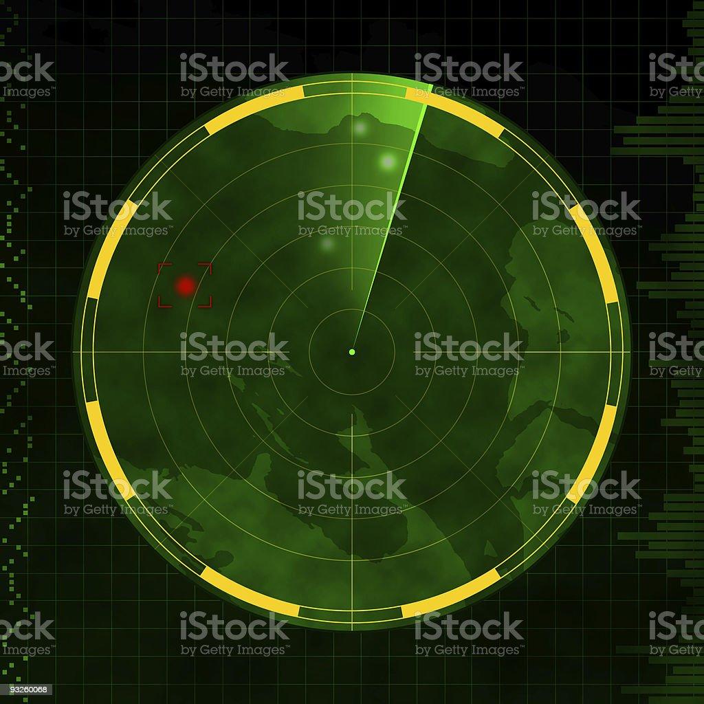 Radar  Air Force stock illustration