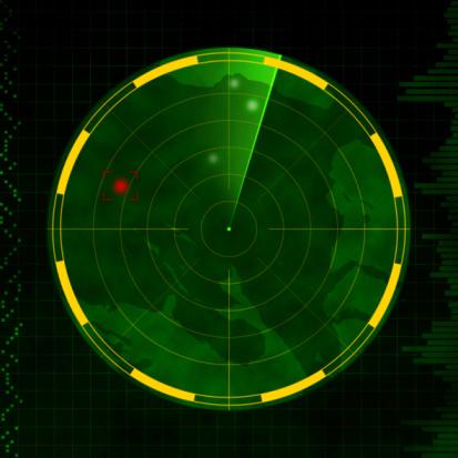 Radar Stock Illustration - Download Image Now