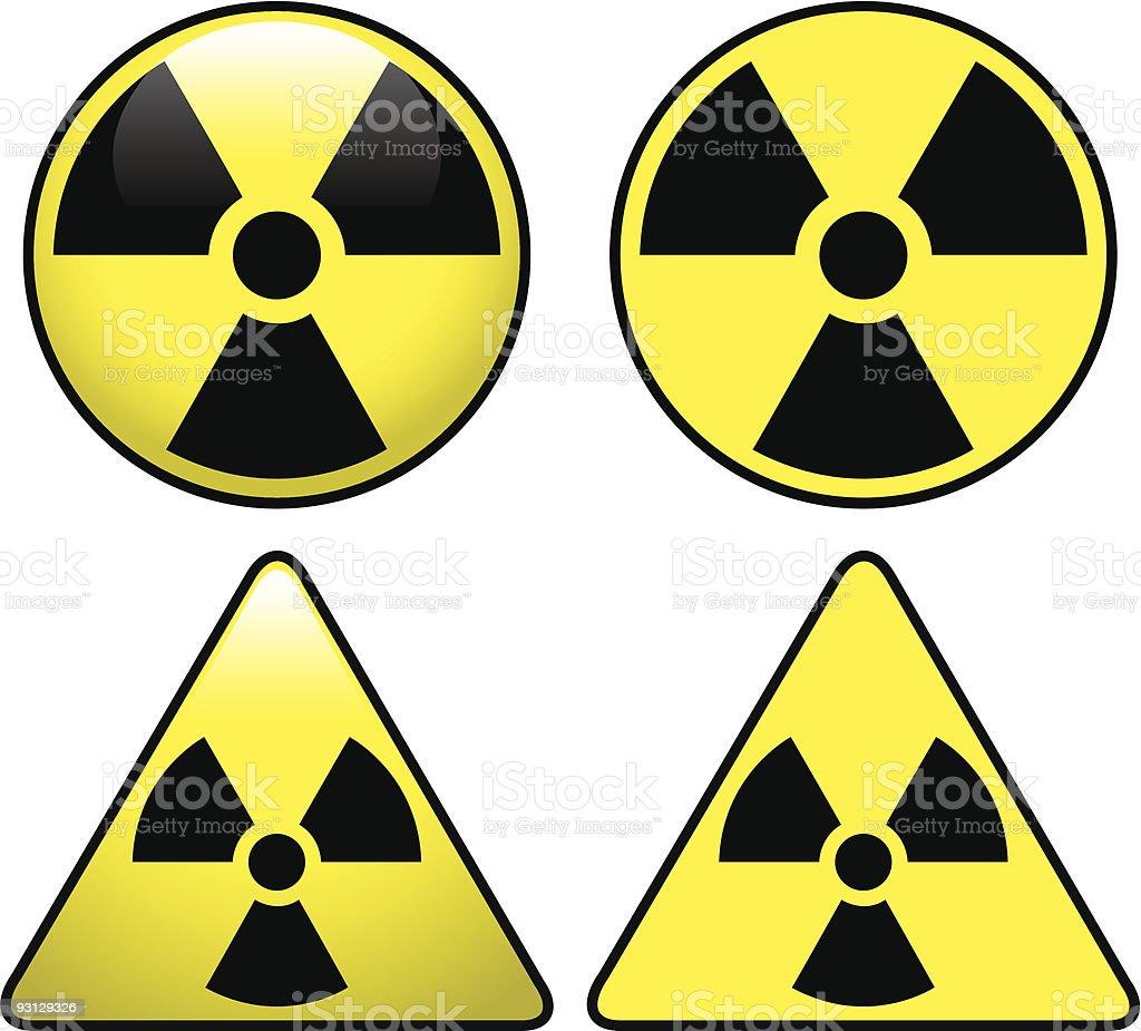 Radiation Symbol vector art illustration