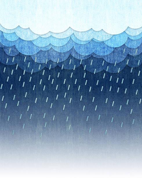 Lluvia de fondo - ilustración de arte vectorial