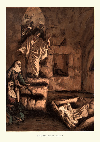 Raising or Resurrection of Lazarus, New testament art