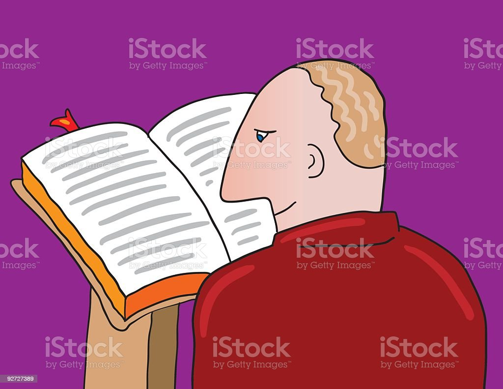 reading a book royalty-free reading a book stock vector art & more images of article