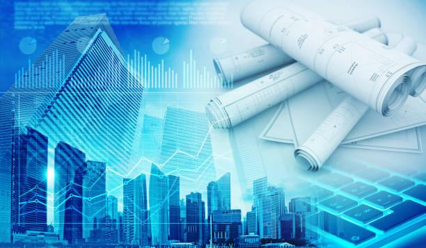 Background Property Developments : Royalty free real estate developer clip art vector images