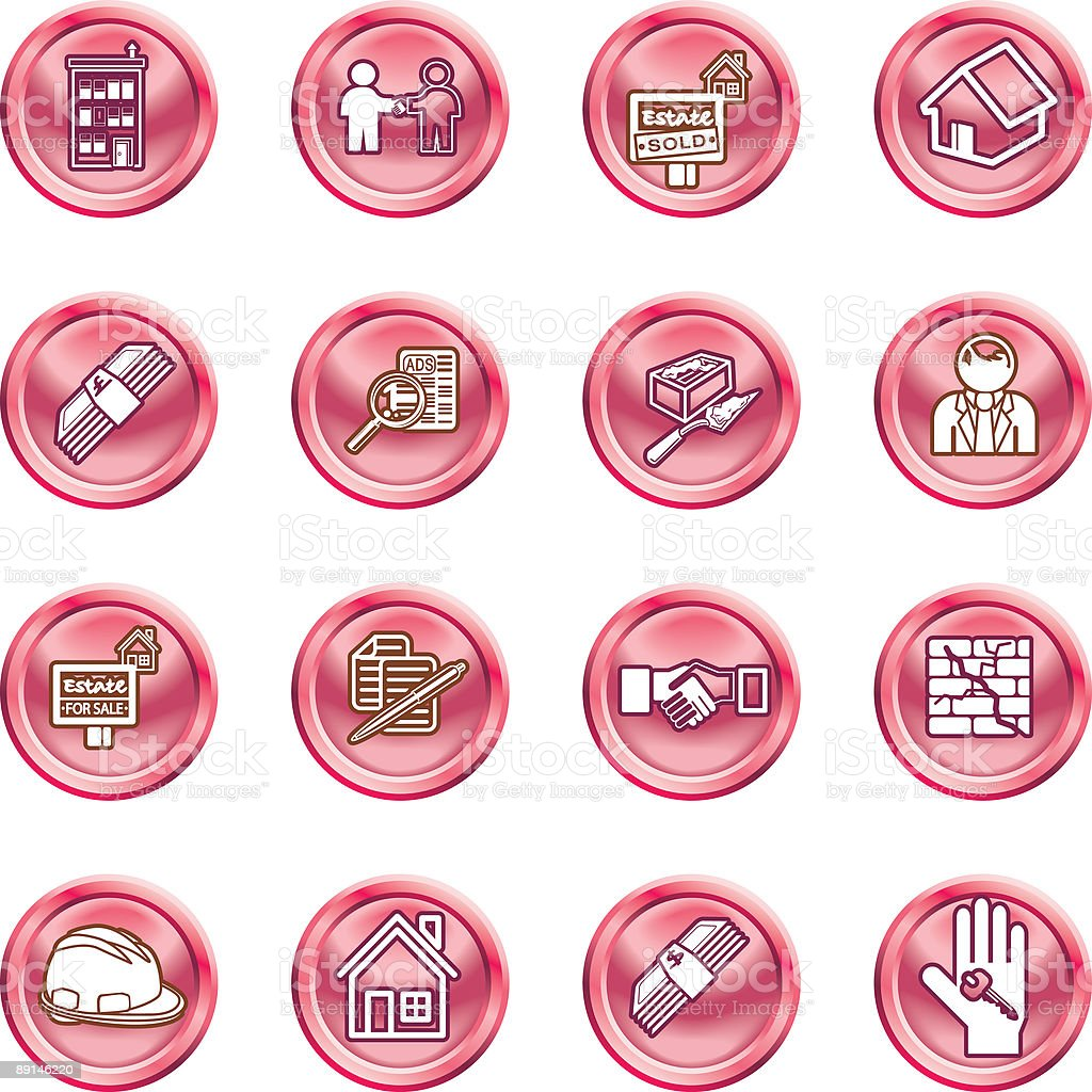 Real Estate Icons royalty-free real estate icons stock vector art & more images of agreement