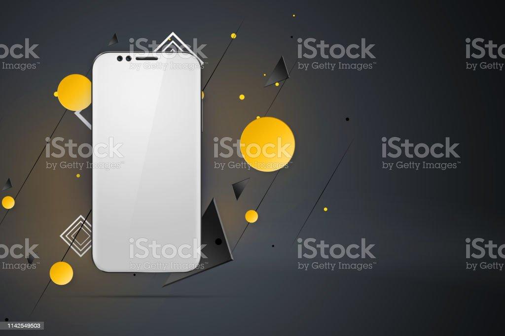 Hintergrund design smartphone