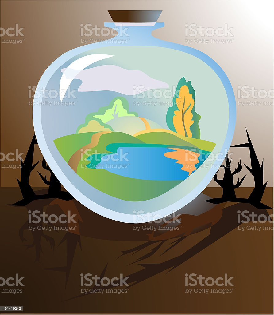 realistical future royalty-free stock vector art