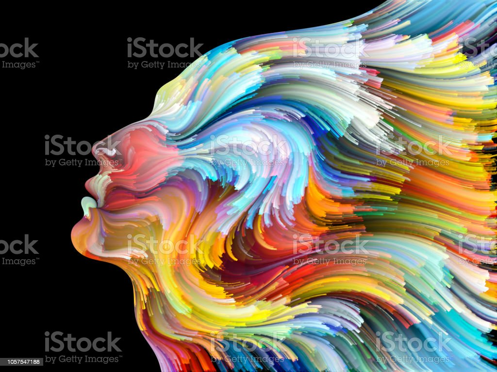 Realms of Inner Palette vector art illustration