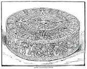 istock Recepcion of Columbus by Fernando and Isabel engraving 1892 1307460562