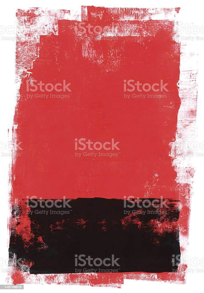 Red and Black abstract royalty-free stock vector art