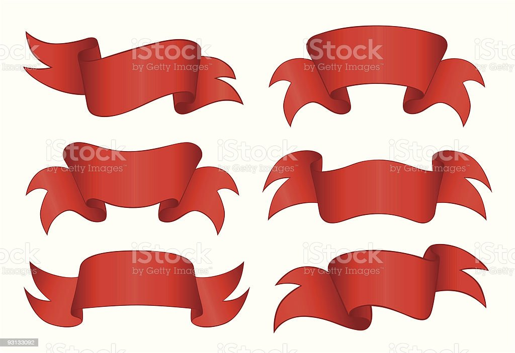 Red Banners royalty-free red banners stock vector art & more images of art title