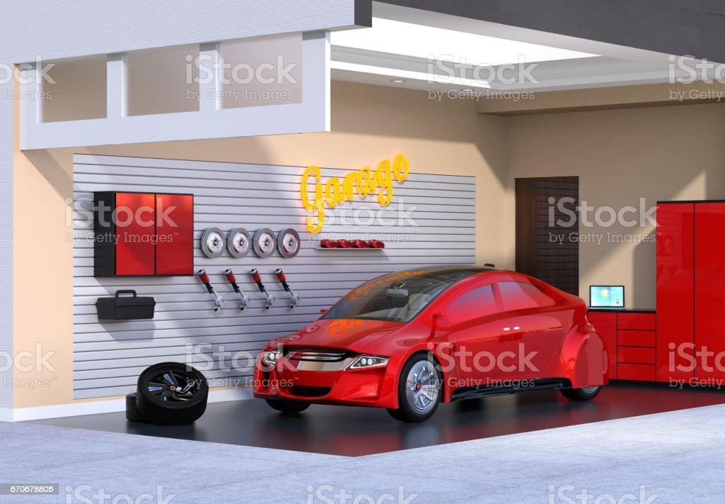 Etabli Garage Vecteurs Et Illustrations Libres De Droits Istock