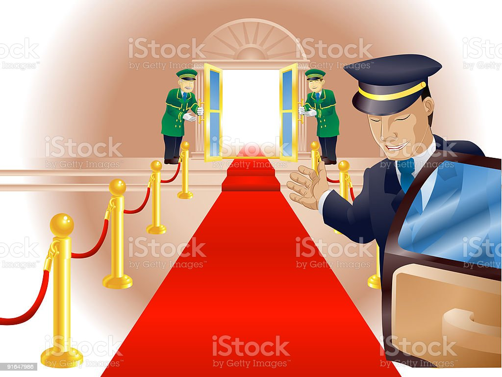 Vip Red Carpet Treatment Stock Illustration Download Image Now Istock