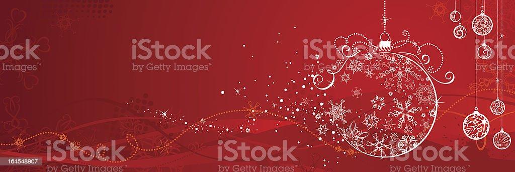 Red Christmas Hintergrund - Lizenzfrei Abstrakt Vektorgrafik