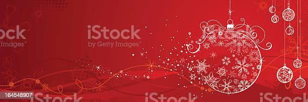Red Christmas Hintergrund Stock Vektor Art und mehr Bilder von Abstrakt