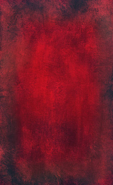 Red grunge paper Red and black stained watercolor paper. RETROROCKET stock illustrations