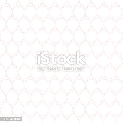istock Red lines forming squares and circles, fading to white 1297385302