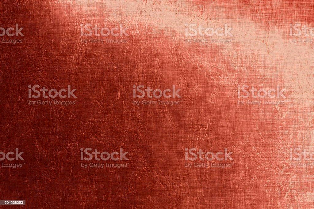 Red luminous background, linen texture, bright festive background vector art illustration
