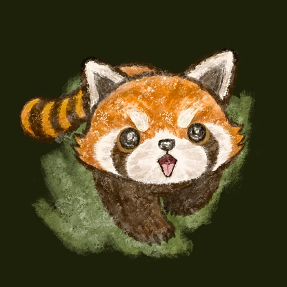 Red panda is coming