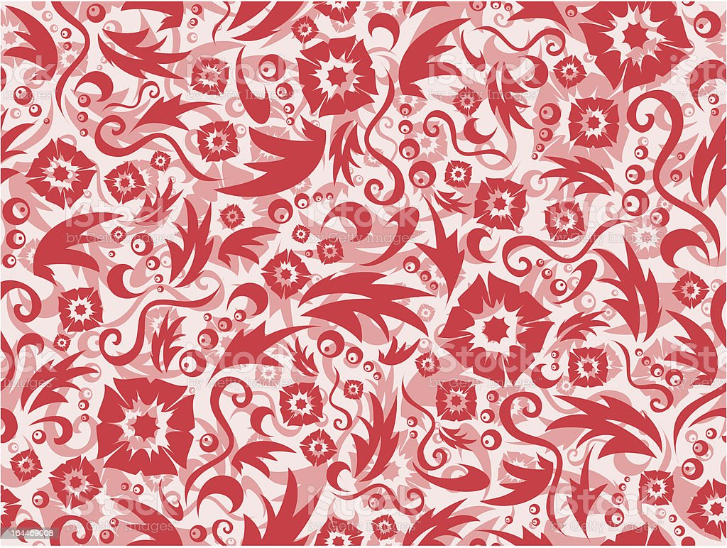 Red seamless pattern
