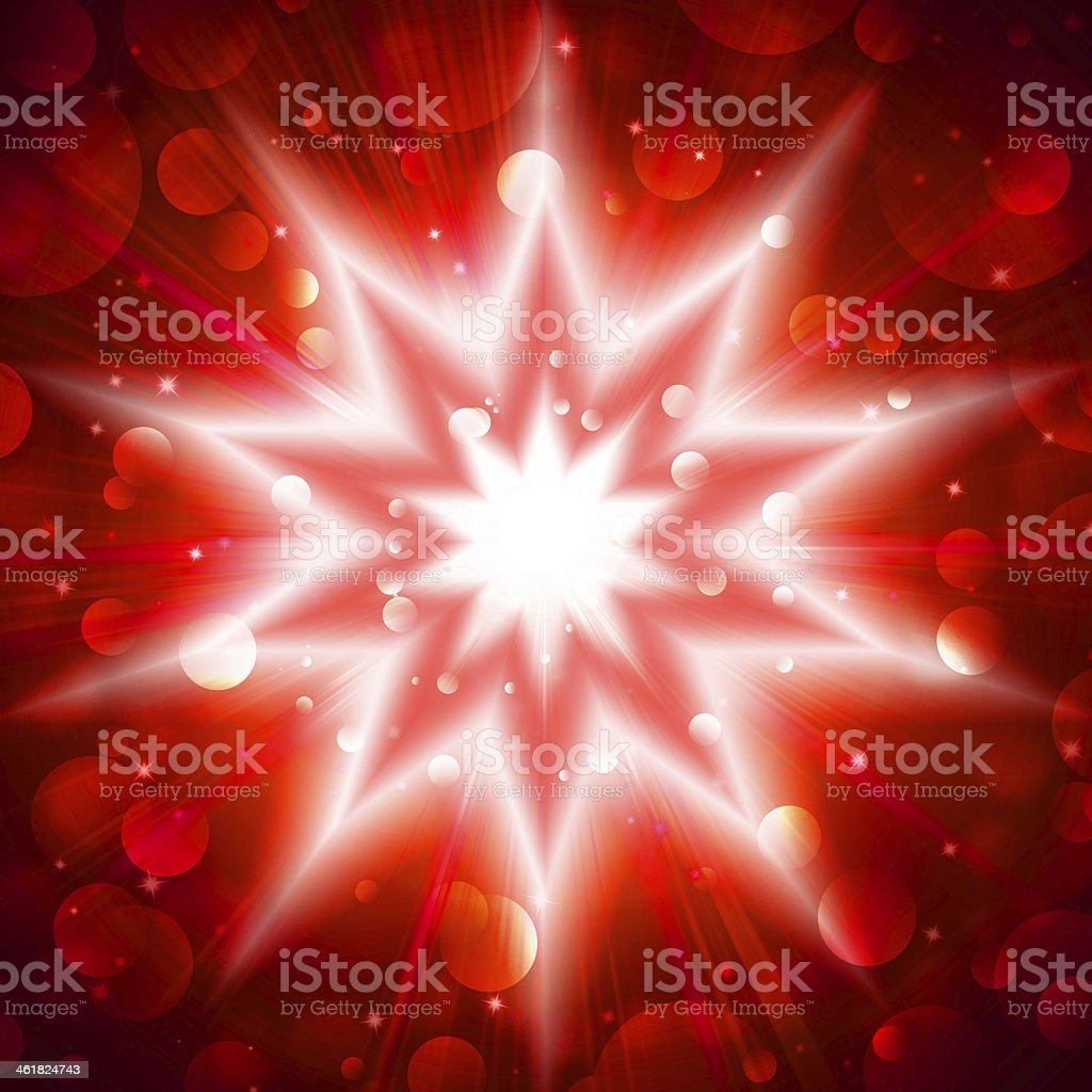 red star flash royalty-free stock vector art