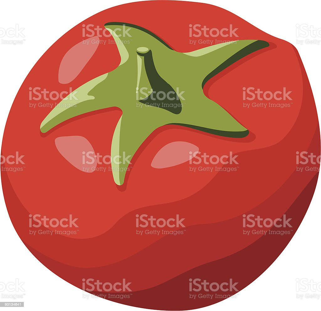 Red Tomato royalty-free red tomato stock vector art & more images of color image